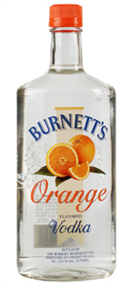 Burnett's Vodka Orange 750ml - Case of 12